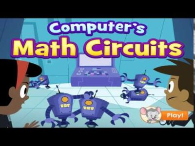 Computer's Math Circuits game footage